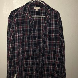 Sonoma Purple Flannel